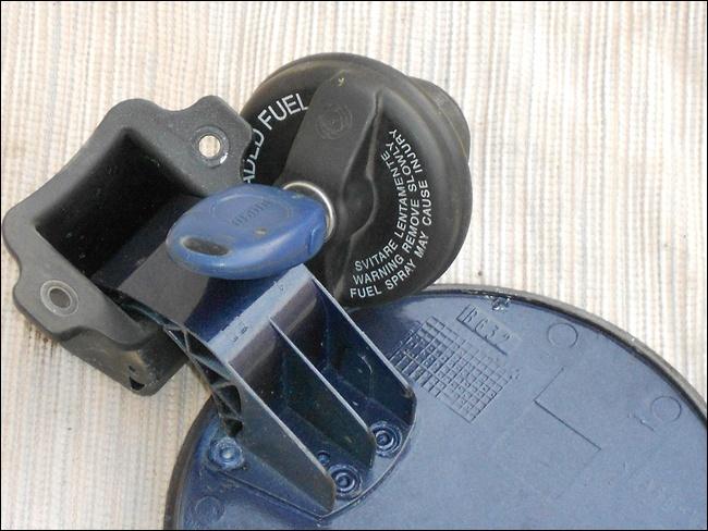 Bouchon de réservoir fiat brava avec trappe + clef